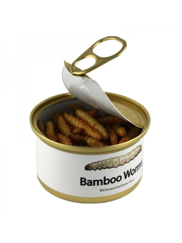BBQ Canned Bamboo Worms