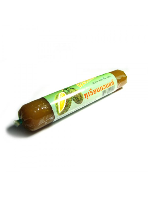Durian fruit paste sausage