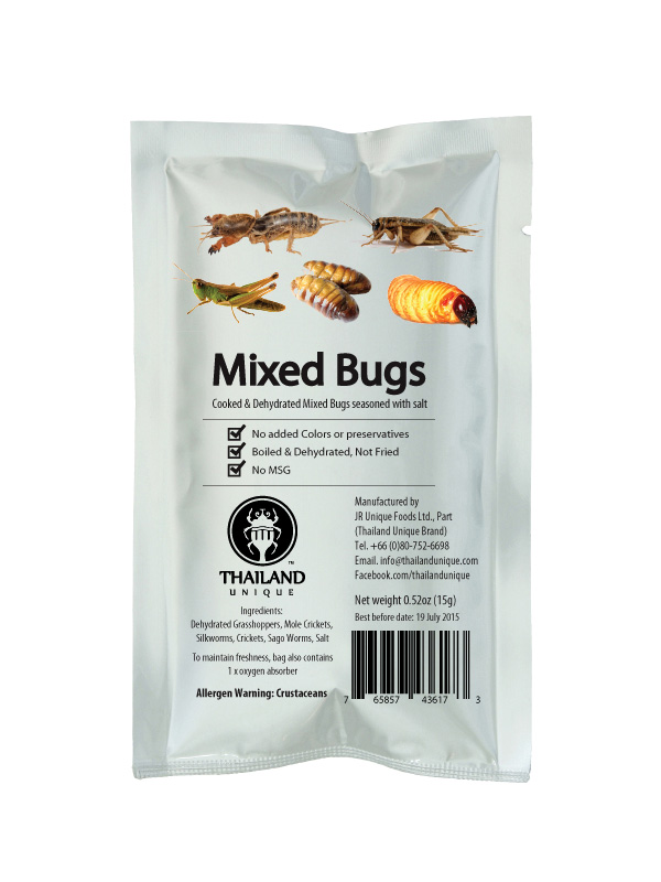 Mixed Edible Insects 15g