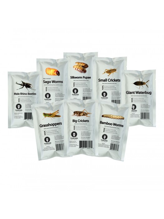 Edible Insect Multi-Pack -16 bags