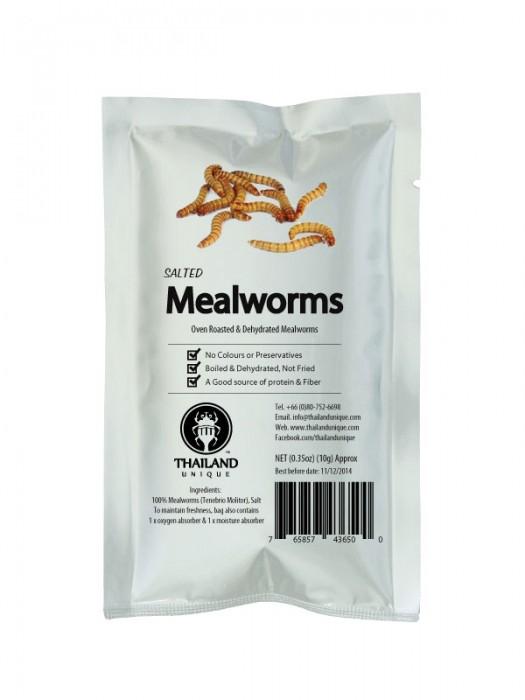 Edible Mealworms - Tenebrio Molitor