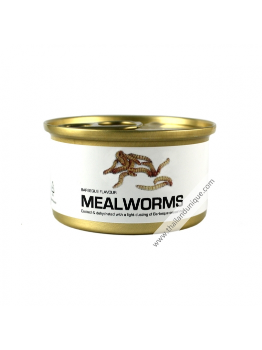 Canned Mealworms with Salt