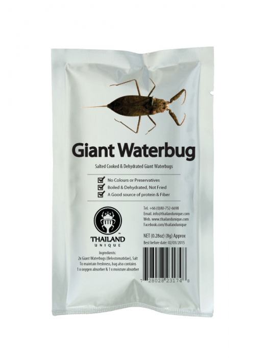 Edible Giant Water Scorpions