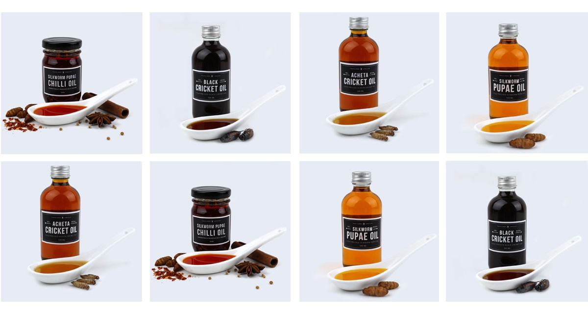 Edible Insect Oils
