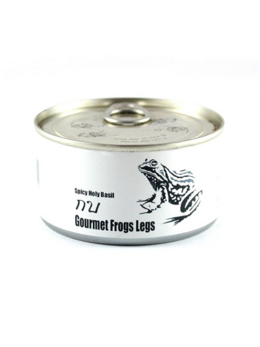Canned Frogs Legs With Seasoning