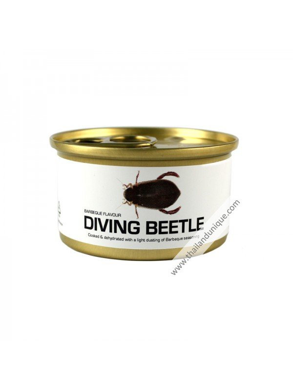 Canned Diving Beetles with Salt
