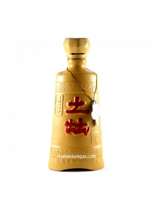 Chinese Whiskey in tall decorative pot