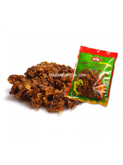 Sticky, Chewy Cuttlefish Snack