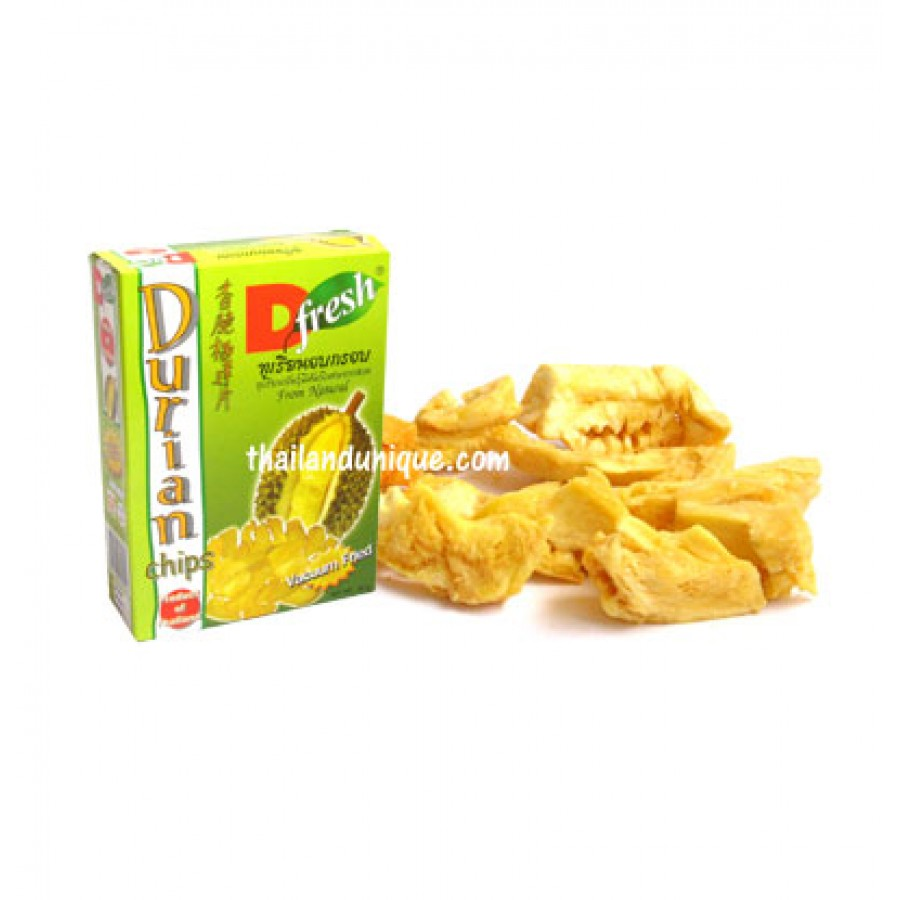 Durian Chips - Vacuum Fried