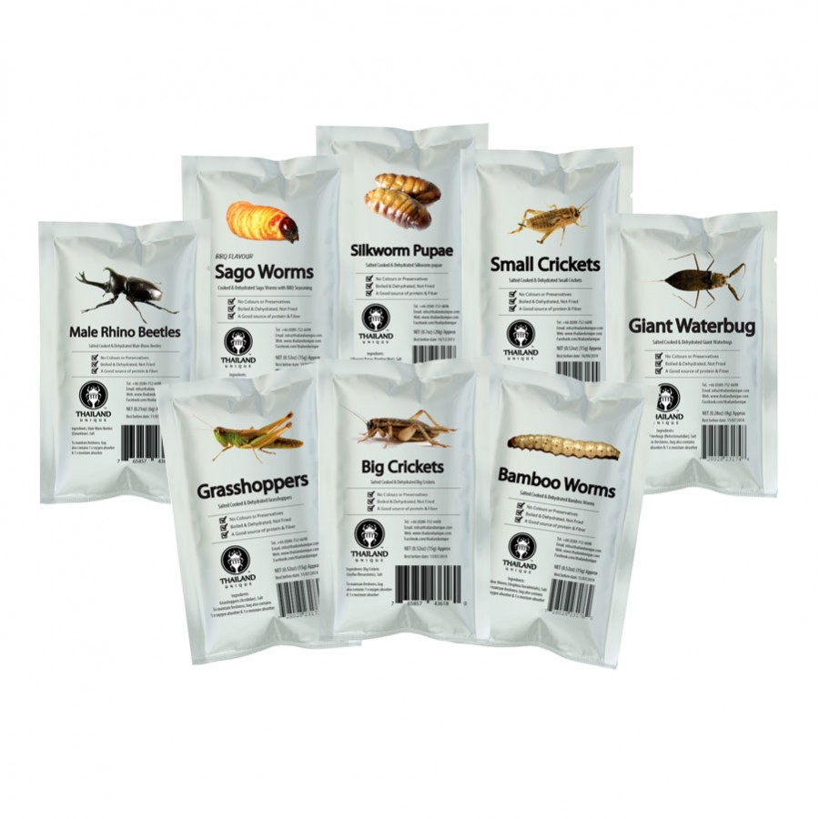 Edible Insects Multi-Pack -16 bags