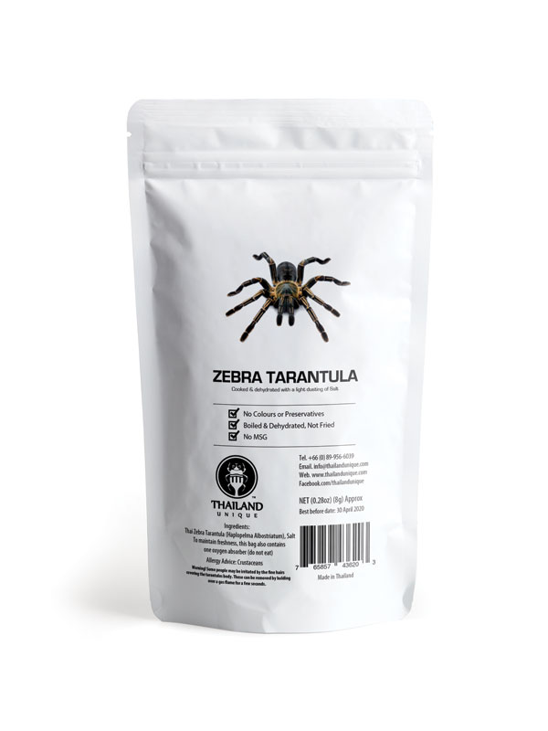 Edible Tarantula in a bag