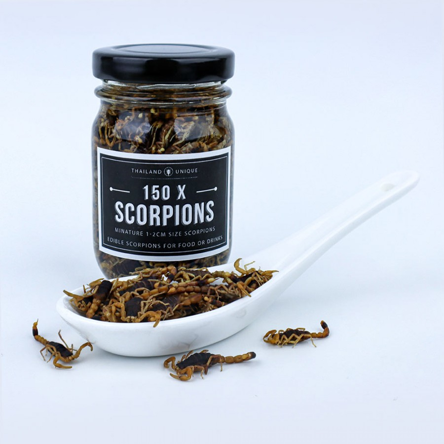 Small Edible Scorpions x 150