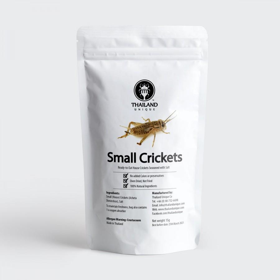 Edible Crickets - Acheta Domesticus