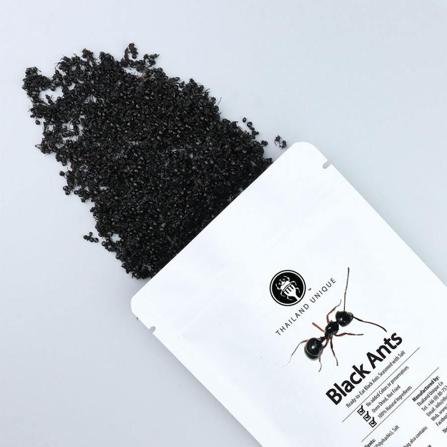 Edible Black Ants with Salt