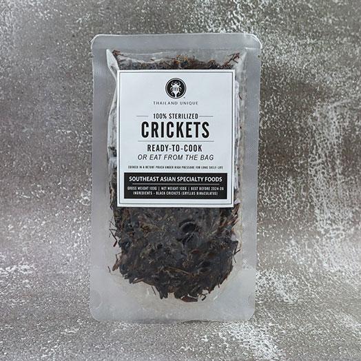 Black Crickets in retort pouch 100g