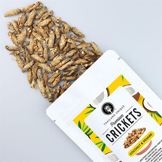 Crickets - Coconut & Sesame Flavour