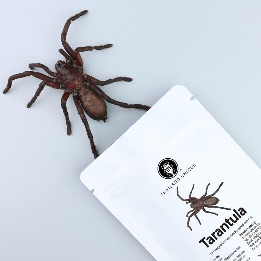 Edible Tarantula in a bag