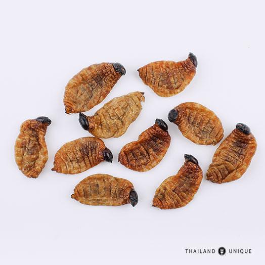 Dehydrated Sago Worm Larvae