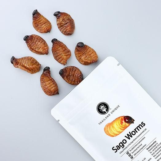 Edible Sago Worm Larvae