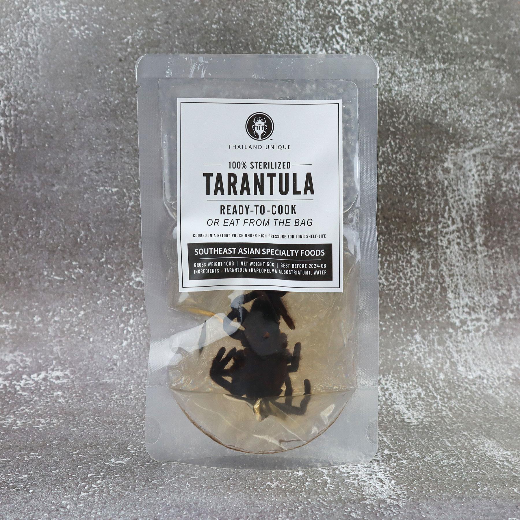 Tarantula in retort pouch 100g