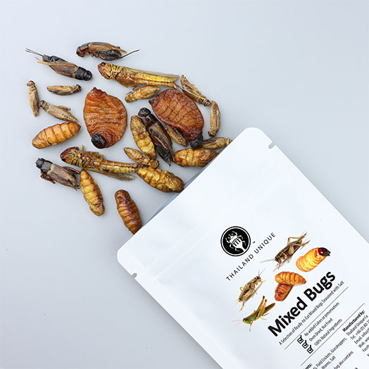 Mixed Edible Insects (Limited Edition)