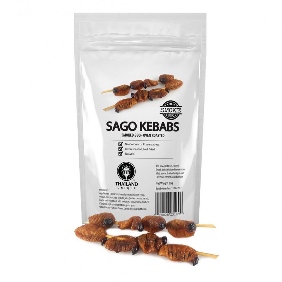 Sago Pupae Kebab