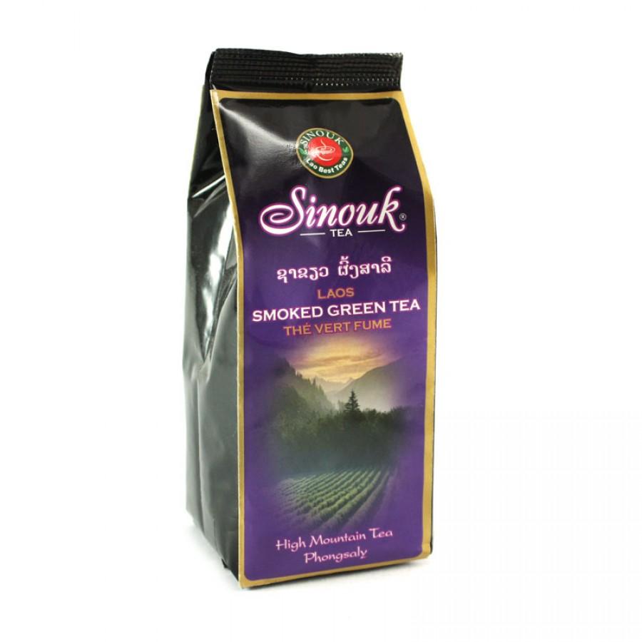Smoked Green Tea from Laos