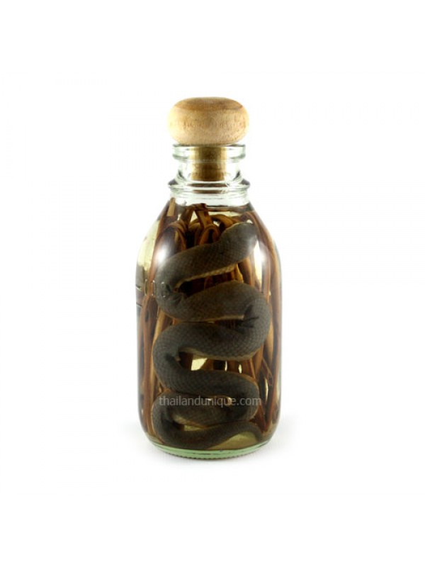 Miniature Snake Whiskey Infusion