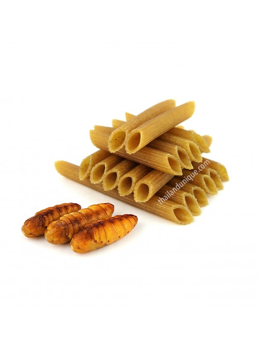Silk Moth Pupae Pasta - Gluten Free!