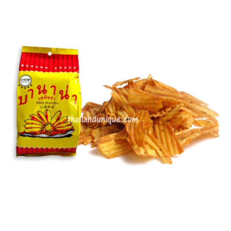 Bannana Chips - Pizza Flavour
